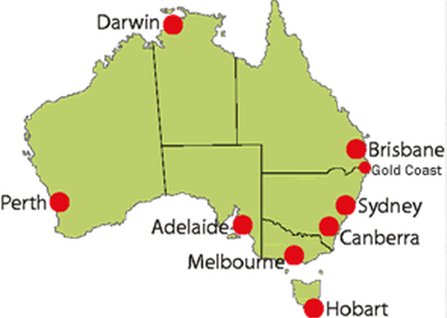 image result for australian major cities